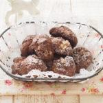 【バレンタインレシピ】 バター不使用 くるみ入りココアクッキー